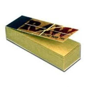 Raw Rolling Papers Unbleached Filter Tips 5 Pack = 250 Tips