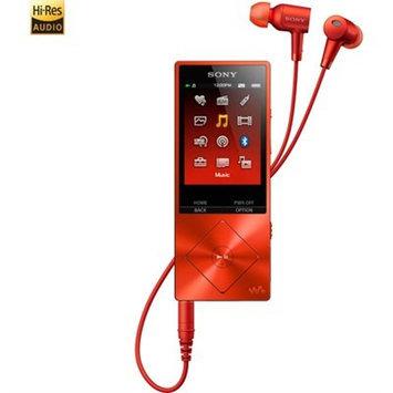 Sony 32GB Red Walkman Hi-Res Audio Digital Music Player