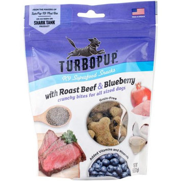 Fetch For Pets FFP8739 TurboPup K9 Superfood Snacks - Roast Beef & Blueberry