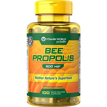 Vitamin World Bee Propolis, 100 Count