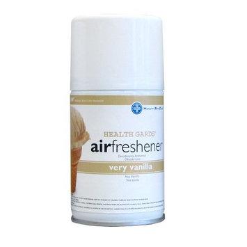 Health Gards Very Vanilla Metered Aerosol Air Freshener, 7 oz Can (Case of 12), Hospeco 07915