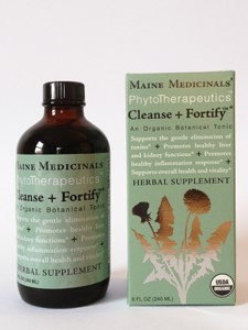 Maine Medicinals Cleanse + Fortify Botanical Tonic 8 oz
