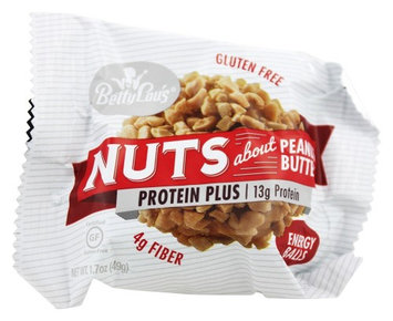Betty Lou's - Nuts About Peanut Butter Protein Plus Energy Balls - 1.7 oz(pack of 12)