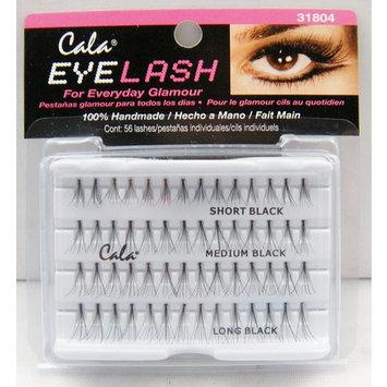 Cala Eyelash (56 Lashes) - Short/Medium/Long Black 31804