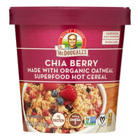 Dr. Mcdougall's OATML CUP, OG2, CHIA BERRY, (Pack of 6)