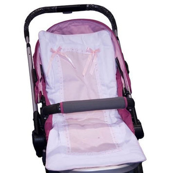 Baby Doll Bedding Stroller Covers, Pink
