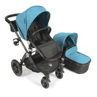 babyroues® Letour Avant Bassinet and Stroller Black Frame System in Teal