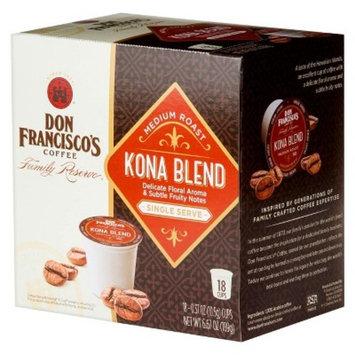 Don Francisco's Kona Blend Keurig K-Cups - 18ct/6.67oz
