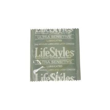 Lifestyles Ultra Sensitive Condoms: 100-Pack of Condoms [100]