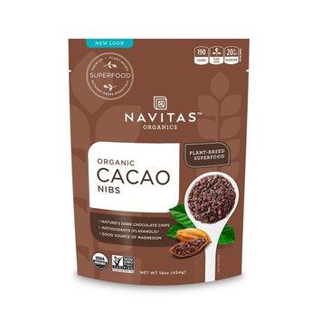 Navitas Organics Raw Cacao Nibs, 16 Ounce [Cacao Nibs]