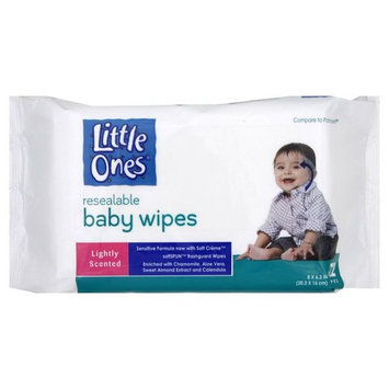 Little Ones Baby Wipes, Lightly Scented, 72 wipes