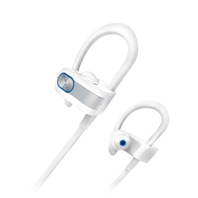 Mqbix Wireless Sports Earphones White