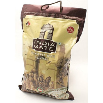 India Gate Basmati Rice Classic 10 lb Plastic Bag