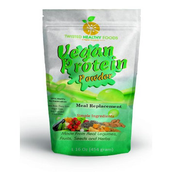 Twisted Natural Foods Llc Vegan Protein Powder