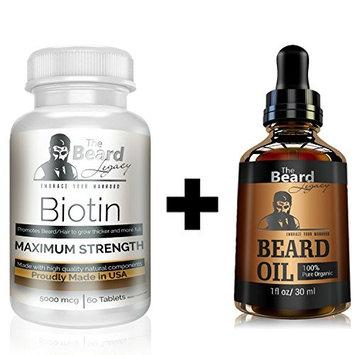 Beard Growth - Beard Oil - Beard Kit - Beard Conditioner - Beard Care - Grooming Kit - Beard Growth Supplements - Beard Growth Oil - Barba - Hair Growth - Facial Hair Growth For Men.