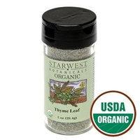 Starwest Botanicals Organic Thyme Leaf Jar