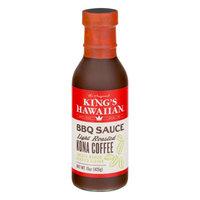 King's Hawaiian Bakery West, Inc. King's Hawaiian BBQ Sauce Light Roasted Kona Coffee, 15.0 OZ