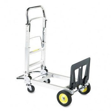 Safco® Hide-Away™ Convertible Hand Truck TRUCK,HAND,CONVRTBL,AM (Pack of2)