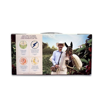 JUAN VALDEZ Premium Colombian Ground Coffee | Cafe Colombiano 2.4oz 5-PACK [Ground Bean]