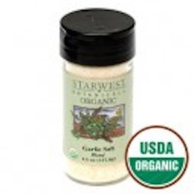 Starwest Botanicals Organic Garlic Salt Jar