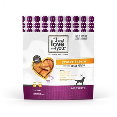 I and Love and You Grater Taters Sweet Potato Dog Treat - 5 oz