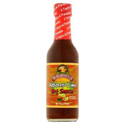 Vita Specialty Foods, Inc. Margaritaville Premium Habanero Lime Hot Sauce, 5 fl oz
