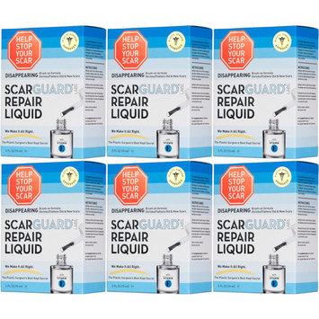 6 Pack ScarGuard MD Premium Liquid 0.5 Oz Each