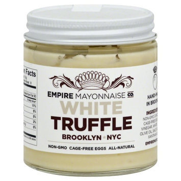 Empire Mayonnaise Co. Hand Made Mayonnaise White Truffle 4 oz
