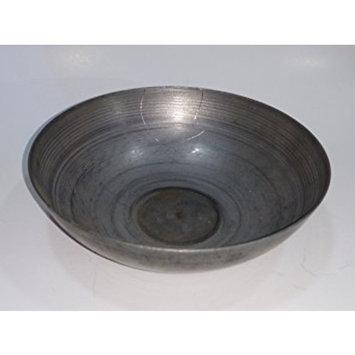 Heavy Duty Cast Iron Henna Bowl Mehendi Mixing, Handmade Heena Metal Vessel for Making Natural Hair