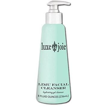 Limu Facial Cleanser 8 oz Marine Algae Aloe Vera Gel Face Wash Ultra Gentle Removes Makeup Dirt