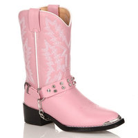 Lil Durango Girls' 10-in. Rhinestone Cowboy Boots