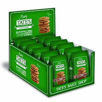 Tate's Bake Shop Thin & Crispy Cookies, Tiny Tate's Chocolate Chip, 1 Ounce Bags, 24 Count [Chocolate Chip]