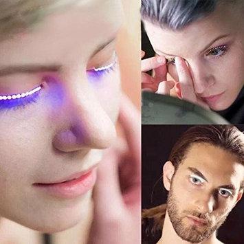 LED Eyelashes Eyelid False Eyelashes for Fashion Icon Saloon Pub Club Bar Party