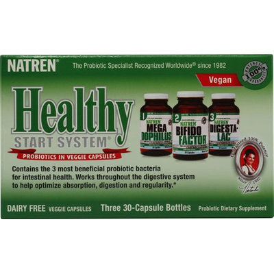 Natren 0987032 Healthy Start System Dairy Free - 3 Bottles