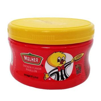 Malher Chicken Bouillon 8 oz - Consome de Pollo (Pack of 24)