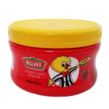 Malher Chicken Bouillon 8 oz - Consome de Pollo (Pack of 12)