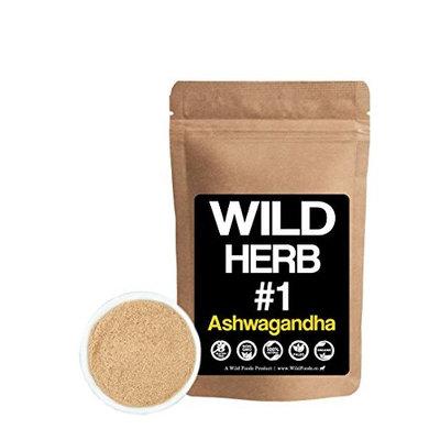 Organic Raw Ashwagandha Root Powder by Wild Foods, Wild Herb #1