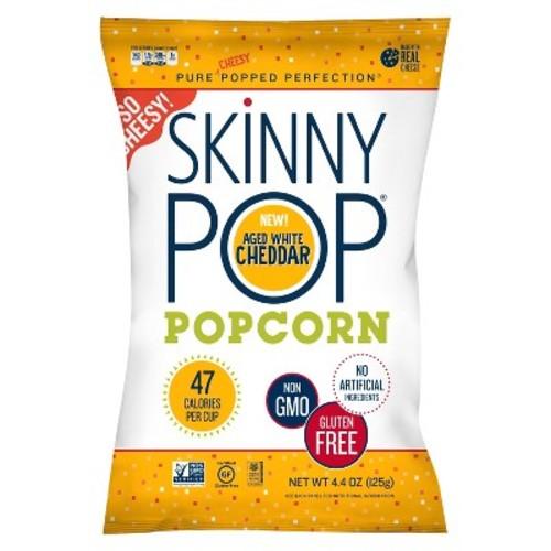 Skinny Pop Aged White Cheddar Popcorn - 4.4oz