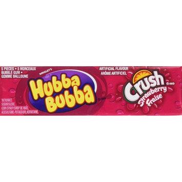 Hubba Bubba Strawberry Crush 5PC x 18 Count