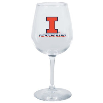 The Memory Company Wine Glass Illinois