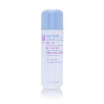 Max Factor Ultra Moisture Alcohol Free Toner For Very Dry and Sensitive Skin 250ml/8oz