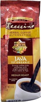 Teeccino Ground Herbal Coffee Alternative Java Medium Roast - 11 oz - 2 pc (Pack of 2)
