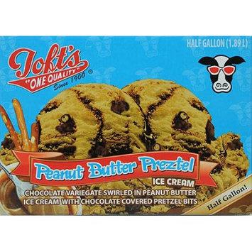 Tofts One Quality Toft Peanut Butter Pretzel 64 Oz