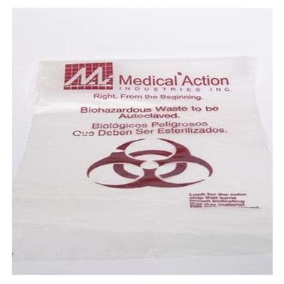 Medegen Medical MAI 8-640 36 x 45 in. Autoclave Decontamination Bag Clear - 100 per Case