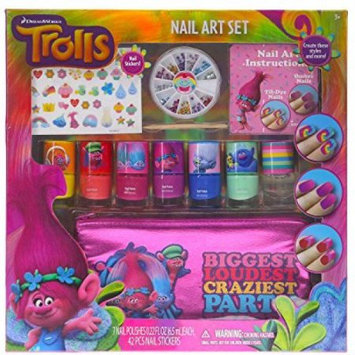 Townley License Td0028sa Trolls Nail Art Deco Set