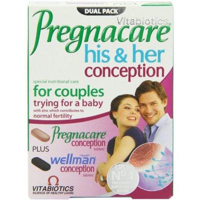 Vitabiotics - Pregnacare - His & Her Conception - 2x30 Tablets
