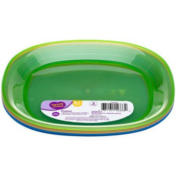 Parent's Choice Baby Feeding Plates, 3 ct