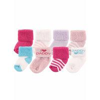 Baby Girls' Socks, 8-pack