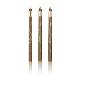 L'Oreal Infallible Never Fail Silky Pencil Eyeliner, Silkissime #720 Green Ivy (3 Pack)
