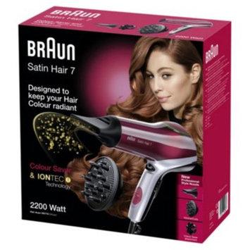 Braun Satin Hair 7 HD770 Colour Hair Dryer.